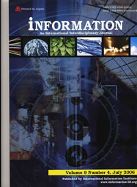 INFORMATION-An International Interdisciplinary Journal